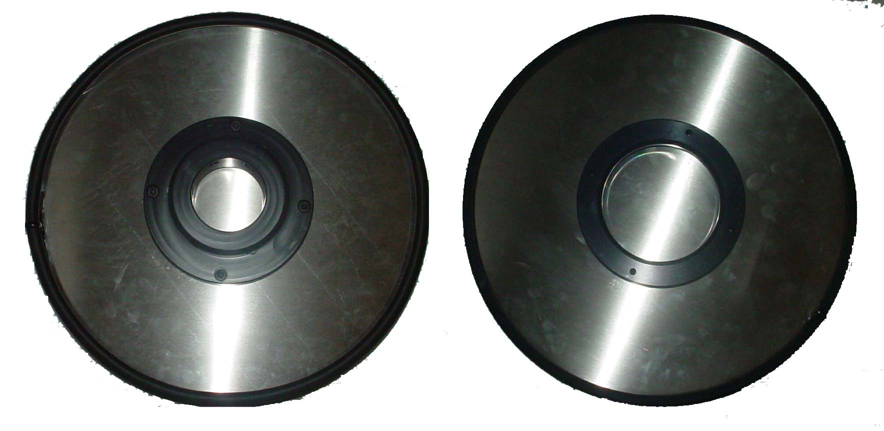 QC-200 Series Stand-alone Dust Cover (Top & Bottom shown)